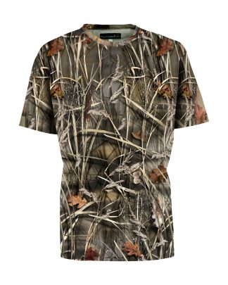Percussion T-Shirt Ghost Camo Wet
