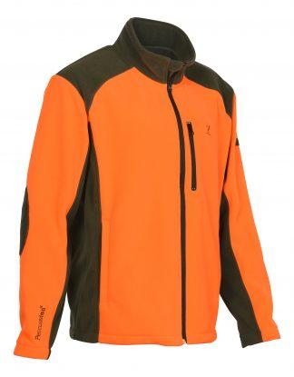 Percussion Full Zip Fleece Orange