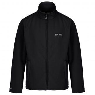 Regatta Softshell Jacket Black - Outdoor Clothing