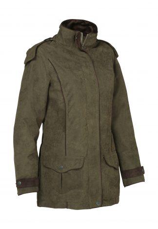 Verney-Carron Ladies Perdrix Jacket Khaki