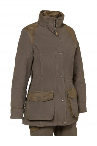 Percussion Ladies Normandie Jacket Marron