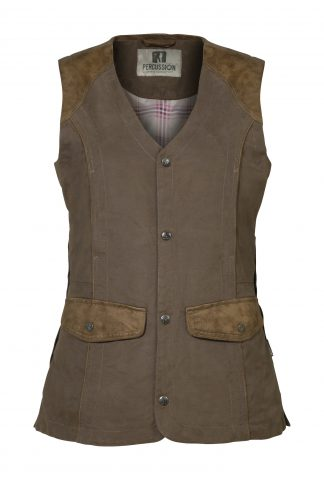 Percussion Ladies Normandie Vest Marron