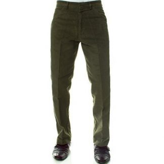 Carabou Moleskin Trousers Olive