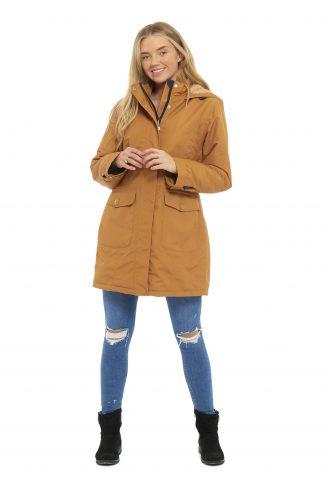 Arctic Storm Ladies Damaris Jacket - Mustard