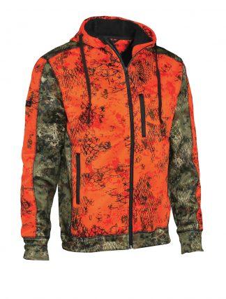 Verney-Carron Wolf Zipped Jacket Orange Camo