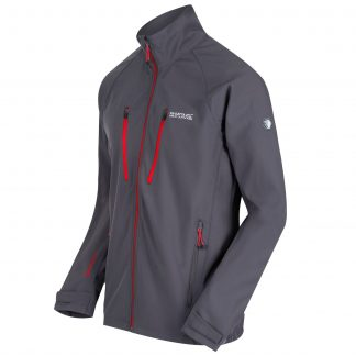 Regatta Nielson Softshell Seal Grey - Outdoor Clothing