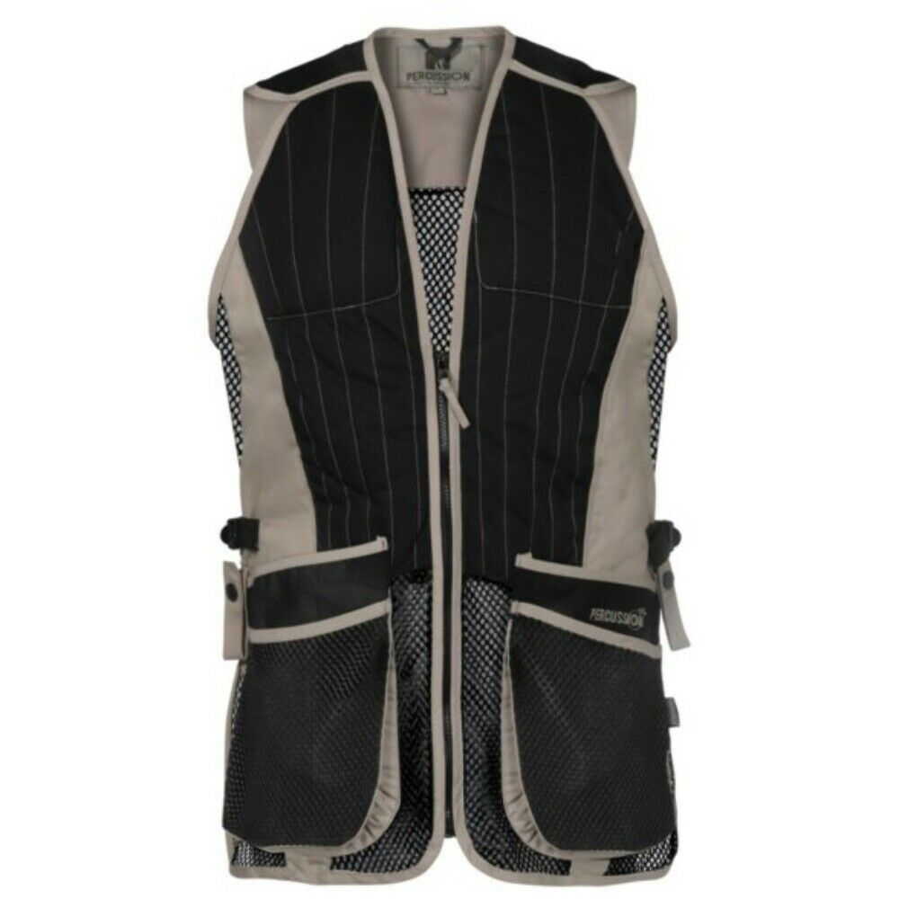 Percussion Skeet Vest Beige/Black