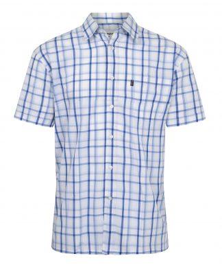 Champion Bude Short Sleeve Shirt Blue