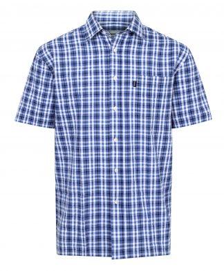 Champion Croyde Short Sleeve Shirt Blue
