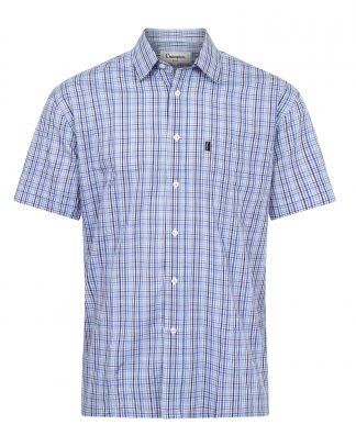 Champion Poole Short Sleeve Shirt Blue