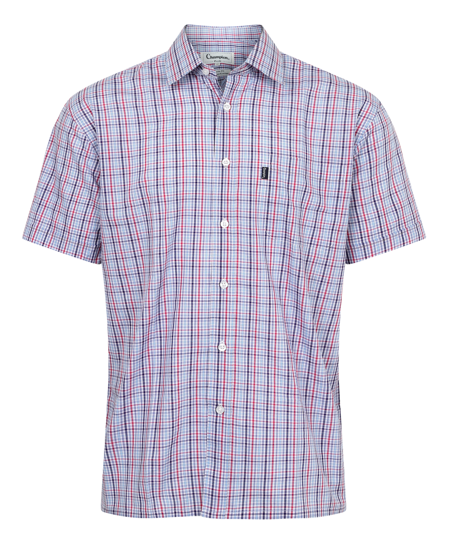 Champion Poole Short Sleeve Shirt Red