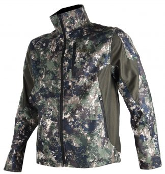 Somlys Silentek Jacket Green Pixel Camouflage