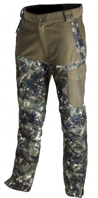Somlys Silentek Trousers Green Pixel Camouflage