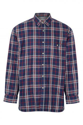 Champion Stroud Fleece Lined Shirt Blue