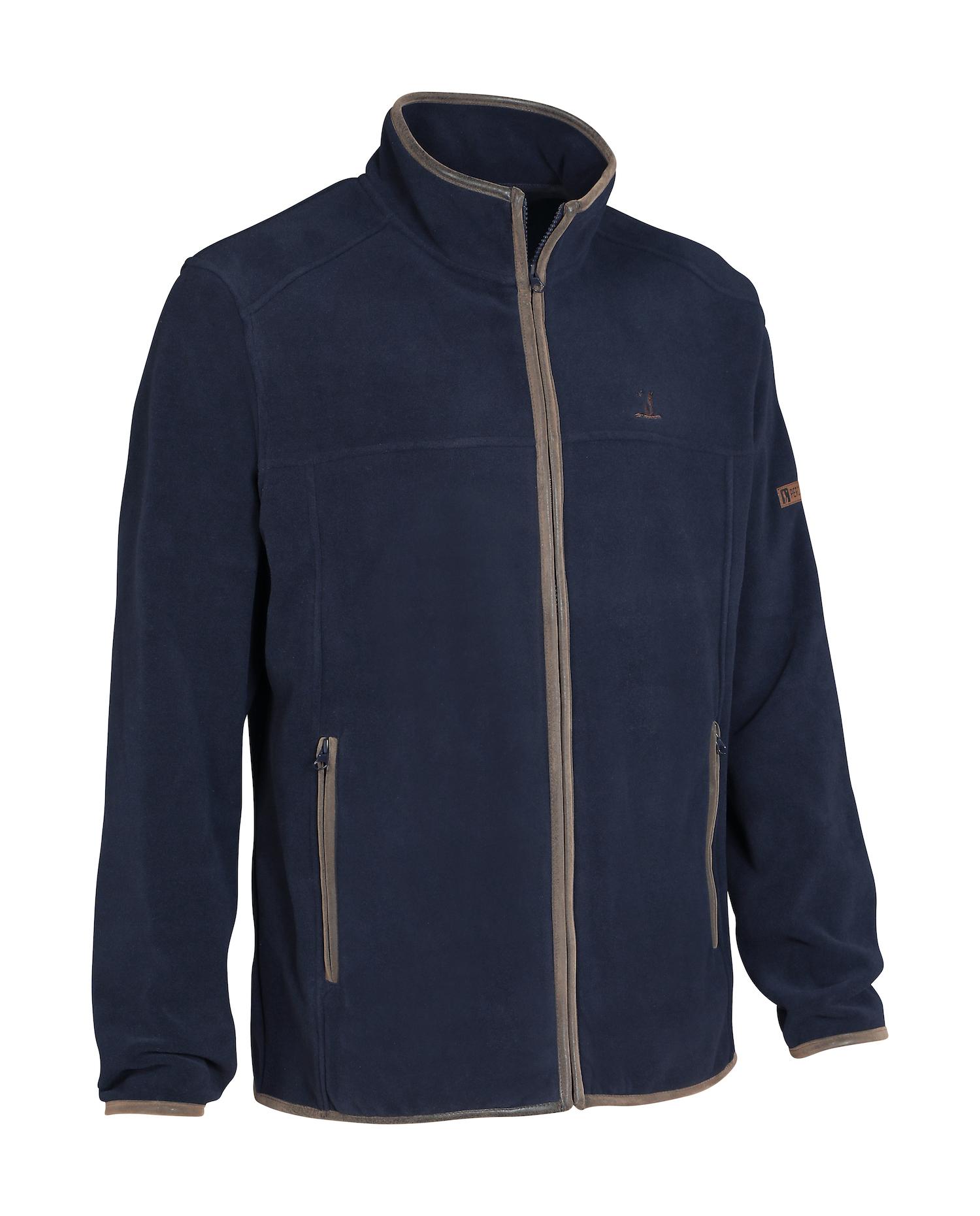 Percussion Scotland Fleece Jacket in Navy
