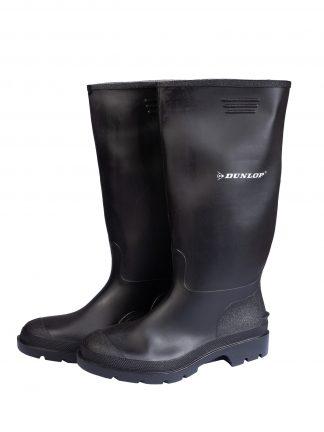Dunlop Rubber Wellingtons Black