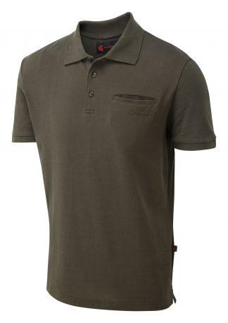 ShooterKing Game Polo Shirt Brown