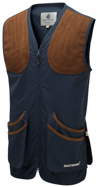 ShooterKing ClayShooter Vest Blue - Shooting Clothing