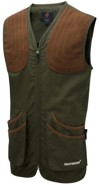 ShooterKing ClayShooter Vest Green - Shooting Clothing
