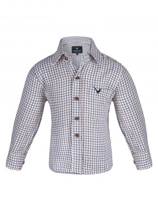 Kids Long Sleeve Country Shirt - Edinburgh Outdoor Wear