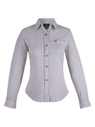 Ladies Long Sleeve Country Shirt - Edinburgh Outdoor Wear