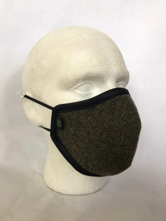 Harris Tweed Face Mask - Country Clothing