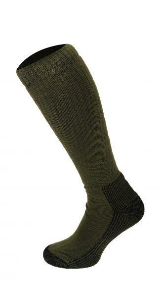 Oxford Blue Mens Knee High Socks Khaki Green
