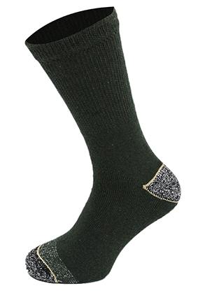 Oxford Blue Mens True Heel Socks Khaki Green