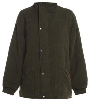 Bronte Moleskin Jacket Olive