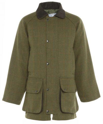 Bronte Derby Tweed Jacket Olive