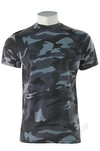Game Camouflage T-Shirt Midnight