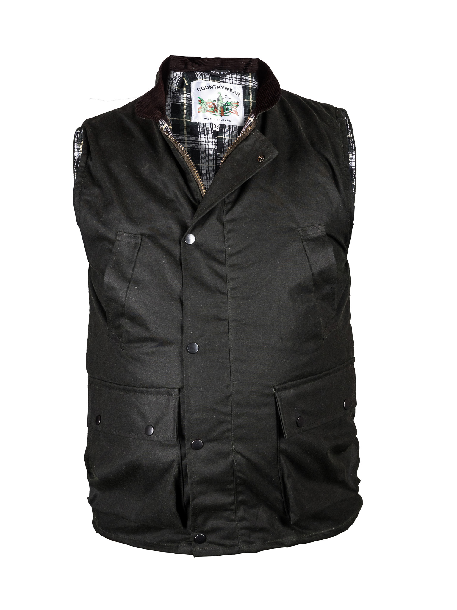 Country Wear Wax Gilet - Edinburgh Outdoor Wear