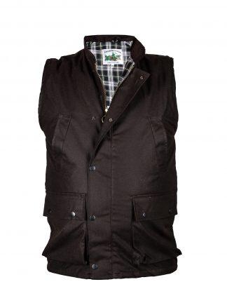 Country Wear Wax Gilet - Edinburgh Outdoor Wear