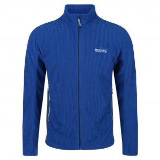 Regatta Highton Full Zip Fleece Nautical Blue - Outdoor Clothing