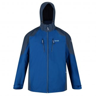 Regatta Mens Calderdale Jacket Blue - Outdoor Clothing
