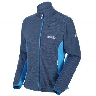 Regatta Ladies Full Zip Fleece Dark Denim Blue - Outdoor Clothing